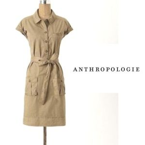 Daughters of the Liberation Khaki Cargo Dress - S